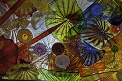 Verre coloré Ceiling1 Image libre de droits