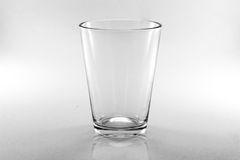 Verre d'isolat. Photo stock