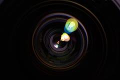 Verre d'ouverture de lentille Photos stock