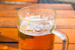 Verre de bière Photographie stock libre de droits