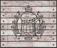 Verre de bière Photos stock