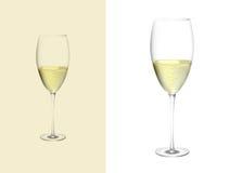 Verre de champagne Photographie stock libre de droits