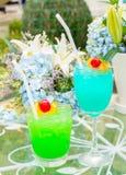 Verre de cocktails Photographie stock