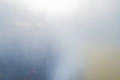 Verre de fenêtre de brouillard Photo libre de droits
