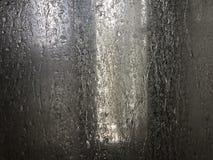 Verre de fond dans le rain-02 photo libre de droits