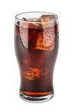 Verre de kola image libre de droits