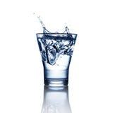 Verre de l'eau Photographie stock libre de droits