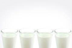 Verre de lait Images stock