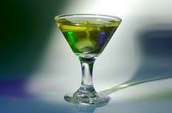 Verre de Martini Photographie stock libre de droits