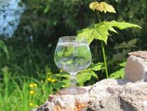 Verre de Misted de l'eau Photo stock