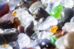 Verre de scintillement de mer Photographie stock libre de droits