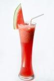Verre de smoothie de pastèque Image stock