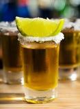 Verre de tequila photo stock
