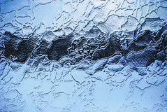 Verre de texture Photo stock
