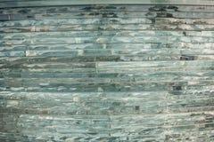 Verre de texture mosaïque La composition du verre Photos libres de droits
