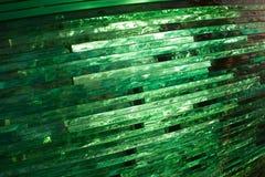 Verre de texture mosaïque La composition du verre Image libre de droits
