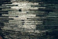 Verre de texture mosaïque La composition du verre Photographie stock libre de droits