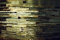 Verre de texture mosaïque La composition du verre Image stock