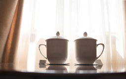 Verre de thé Photos libres de droits