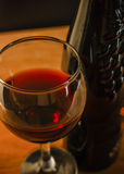 Verre de vin Images stock