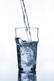 Verre de vin avec de l'eau photo libre de droits