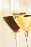 Verre de vin blanc Images stock