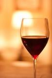 Verre de vin rouge Photo libre de droits