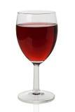 Verre de vin rouge Photos libres de droits