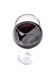 Verre de vin rouge Photo libre de droits