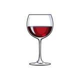 Le croquis de vin rouge illustration stock illustration du ap ritif 42750620 - Verre de vin dessin ...