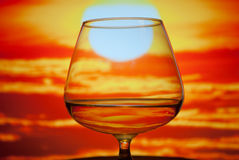 Verre de whiskey Photo libre de droits
