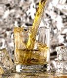 Verre de whiskey Photographie stock