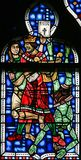 Verre souillé dans les vers - meurtre d'Uriah par le Roi David photo libre de droits