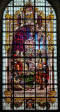 Verre souillé - St John le baptiste Photographie stock libre de droits