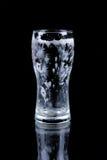 Verre vide de bière Image libre de droits
