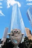 Verrekijkersstandpunt voor Één World Trade Center, de Stad van Manhattan New York Royalty-vrije Stock Afbeelding