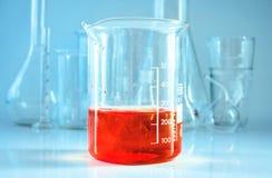 Verrerie chimique Laboratoire de Chem photographie stock libre de droits