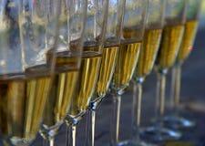 Verres à vin Image libre de droits