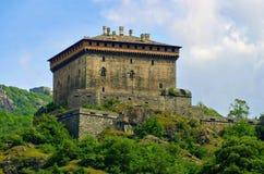 Verres Castello Fotografia Royalty Free