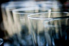 Verres cristal Photo libre de droits