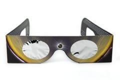 Verres d'éclipse Images libres de droits