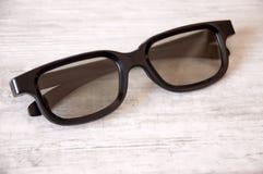 verres 3D pour le visionnement Photos stock