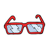 verres de bande dessinée Photo libre de droits