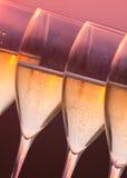 Verres de champagne Photo stock