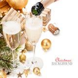 Verres de champagne Photos stock