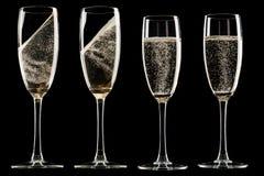 Verres de champagne Image stock