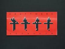 Verres de concert de Kraftwerk 3D Image stock