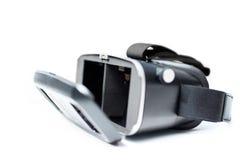Verres de la réalité virtuelle VR Images libres de droits