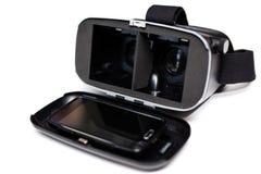 Verres de la réalité virtuelle VR Photos libres de droits