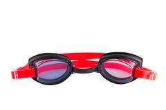 Verres de lunettes d'isolement sur le fond blanc Photos libres de droits